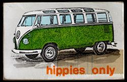 hippies only green