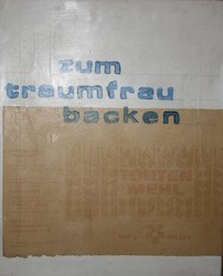 zum traumfee backen, Acryl/Collagen auf MDF, 2009, 35,5 × 28,5 cm